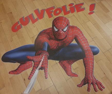 nemprint gulvfolie spiderman