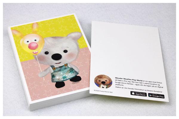 Postkort A6 størrelse