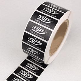 Etiketter og labels på rulle