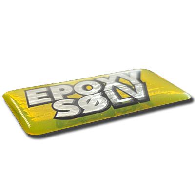 Domede Epoxy klistermærker